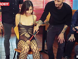 LETSDOEIT - super-fucking-hot nubile tantalized and plowed At bdsm party