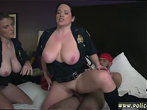 black s licking rectum Noise Complaints make dirty mega-bitch cops like me raw for hefty