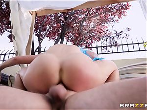 cosplay fuckpole loving milf Cherie Deville banged hard in the donk
