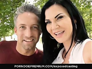 unveiled audition Jasmine Jae pummeled in scorching casting
