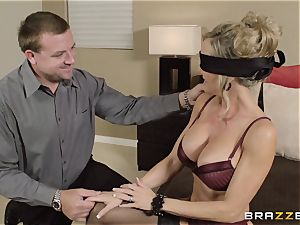 The husband of Brandi love lets her plumb a different fellow