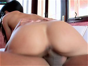 super hot damsel Jenaveve Jolie likes her sloppy facial cumshot