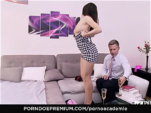 porn ACADEMIE Lana Rhoades loves plowing French wood