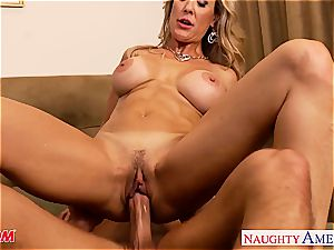 Brandi love craves spunk-pump deep in her milf pussy