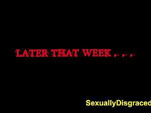 FetishNetwork Stella May ejaculation torture for her master