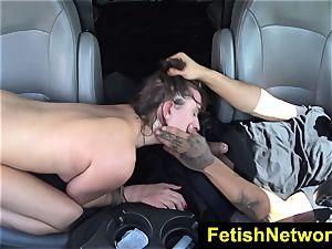 HelplessTeens Ashley Adams outdoor fucky-fucky