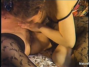 spectacular senior lesbos get down and filthy amateur fashion