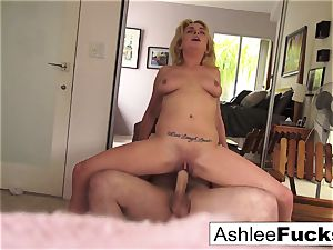 Ashlee and James screw all around the house