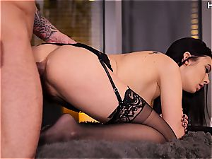 yummy Marley Brinx luving rectal hook-up