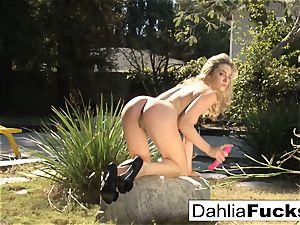 Dahlia's wondrous outdoor solo