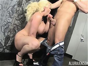 light-haired milf Alura Jenson decides to cheat on her hubby