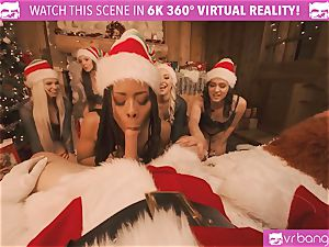 VRBangers Christams lovemaking With Eight sumptuous Elves
