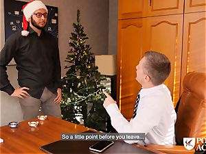 porn ACADEMIE - Christmas plow with Christina sparkle
