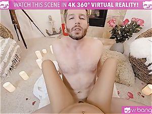 VR porno - Thanksgiving Dinner becomes ultra-kinky smashing