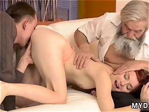 nasty old man hard-core sudden experience with an old gentleman