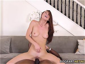 Aidra Fox Takes Mandingo's big black cock