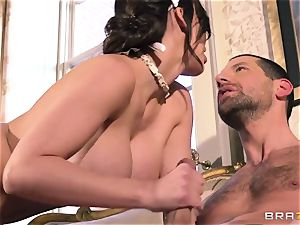 Aletta Ocean - snarling submissive meets his sir from work