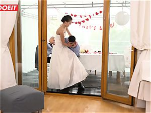 LETSDOEIT - StepMom penetrates StepSon With husband Sleeping