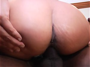 seductive Priya Rai bounces her coochie on this fat trouser snake