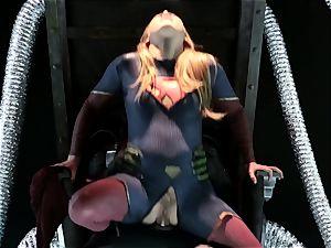 Supergirl Pt 1 Carter Cruise gets a heros boning