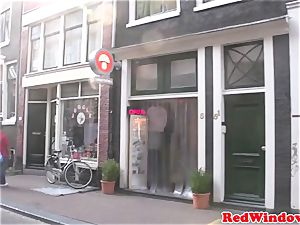 Amsterdam prostitute bj's customer