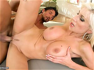 Alluring Puma Swede gets her cunny inserted with man sausage