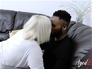 AgedLovE Mature Lacey Starr gonzo blowjob
