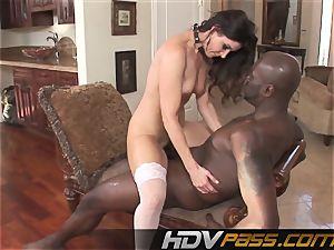 HDVPass interracial fucky-fucky with India Summers