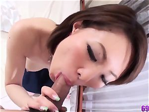 thick baps Miki Uemura extraordinaire hookup in romantic sequences
