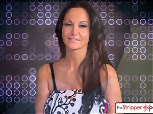 The Stripper practice- Ava Addams and get a adorable screw