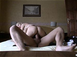 Slovakian fantasy babe Miriama Kunkelova riding boner