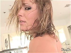 Deep anal invasion bashing for Sheena Shaw