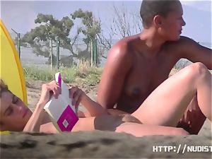nudist beach video of marvelous tight honies