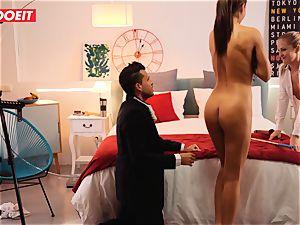 LETSDOEIT kinky Artist penetrates steamy Spanish couple