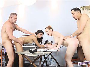 Katalina Mills and Gigi Flamez exchange daddies