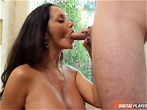 mischievous brunette Ava Addams has her gorgeous vagina battered into