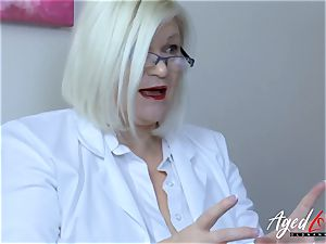 AgedLovE Lacey Starr huge-titted ash-blonde Mature hardcore