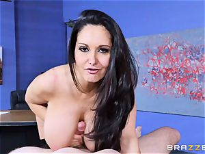 Ava Addams nailed in her wet labia