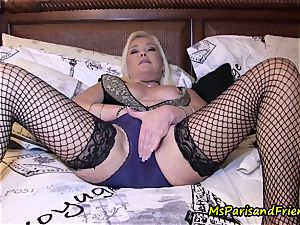Ms Paris Rose in g-string Fetish getting off Compilation