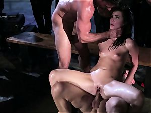 Lily Carter and Lily likes gets showered with super-fucking-hot cum