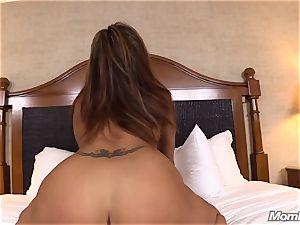 super-fucking-hot Latina fledgling mummy very first timer
