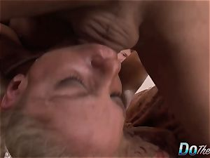 ash-blonde wifey Angela Aspen takes giant hard-on