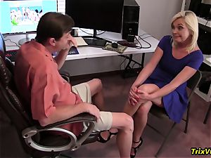 drilling the red-hot secretary