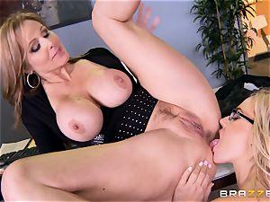 boss Julia ann penetrates her fantastic assistant Olivia Austin