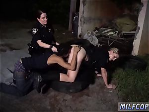 "unexperienced outdoor towheaded nubile first time Car milking Suspect gets the ""Jacking"" he deserves"