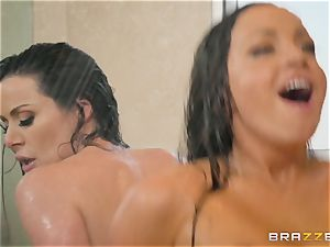 molten threeway with Kendra fervor and Abigail Mac