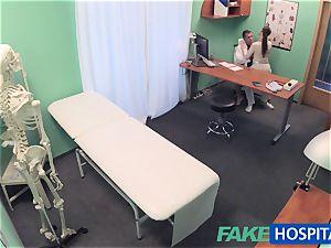 FakeHospital medic gets killer patients twat raw