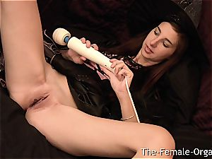 Halloween Witch prefers railing electro-hitachi over