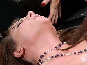 Casey Cumz survives intense bum onslaught sacrificing her gash to a stiff man meat