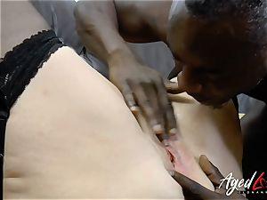 AgedLovE Lacey Starr bi-racial hardcore ass-fuck